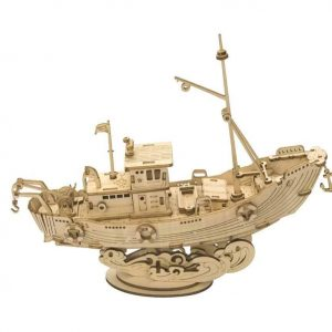 Details about  /Robotime® Japanese Diplomatic Ship Model
